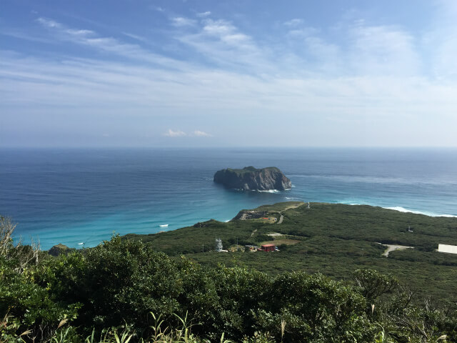 とにかく海が美しい新島