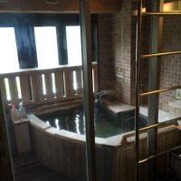 富士レークホテルの部屋風呂