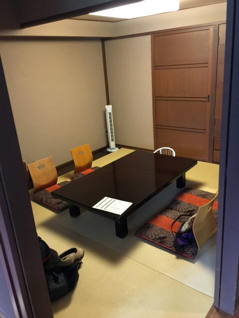 富士レークホテル和室