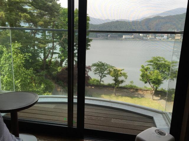 富士レークホテルの眺望